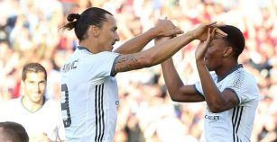 Ibrahimovic debuta en el United con tijereta impecable (VIDEO)
