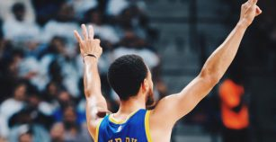 "Curry, ""orgulloso"" de su equipo tras incidente entre Green y Durant"