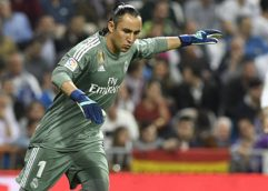 Real Madrid y Navas salvan empate en casa ante Athletic