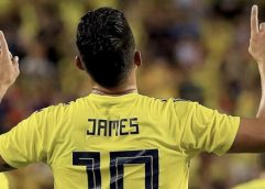 James regresa a convocatoria de Colombia para amistosos ante Perú y Ecuador