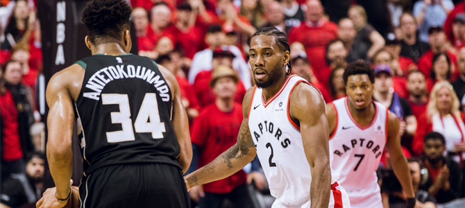 Raptors eliminan a Bucks y jugarán con Warriors su primera final de NBA