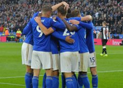 Leicester golea 5-0 al Newcastle y regresa al podio de la Premier League