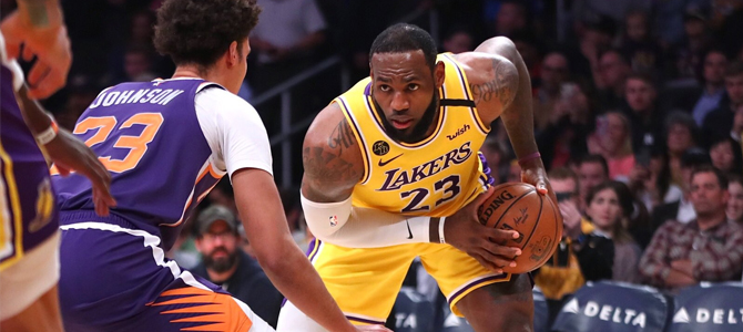 NBA: LeBron James no podrá pasar página si se cancela la temporada